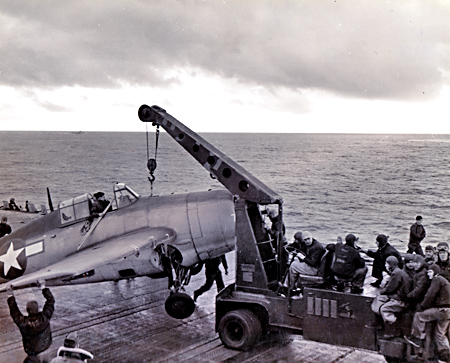 Action on the USS Ranger - Air Group 4