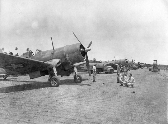 VMF-124 on Guadalcanal - Feb 1943