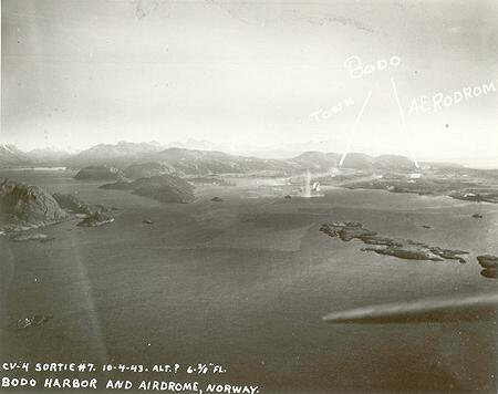 Bodö Harbor Under Attack
