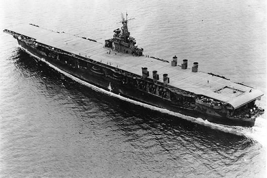 USS Ranger, August 1942