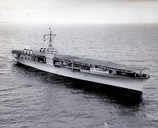 USS Ranger - Builder's Trial Run